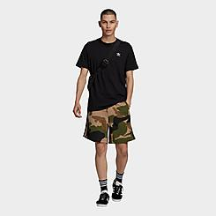Men's adidas Originals Camo 3-Stripes Shorts
