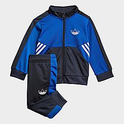 Kids' Toddler and Little KIds' adidas Originals SPRT Collection Track Suit
