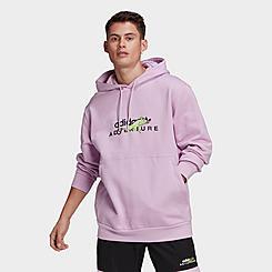 Men's adidas Originals Adventure Big Logo Hoodie