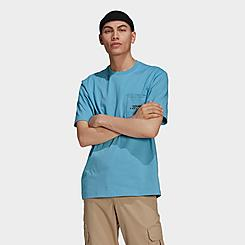 Men's adidas Originals Adventure Pocket Logo T-Shirt