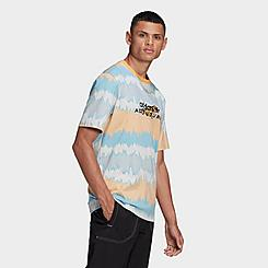 Men's adidas Originals Adventure Archive Printed T-Shirt