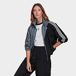 Women's adidas Originals Adicolor Sliced Trefoil Japona Track Top