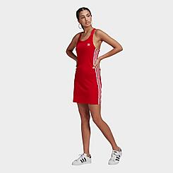 Women's adidas Originals 3-Stripes Spaghetti Strap Dress