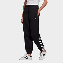 Women's adidas Originals Adicolor 3D Trefoil Fleece Jogger Pants