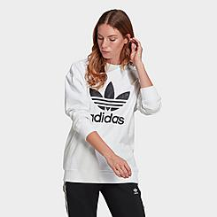 Women's adidas Originals Trefoil Crewneck Sweatshirt