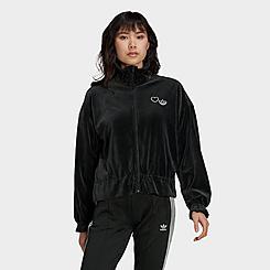 Women's adidas Originals Crop Windbreaker Jacket