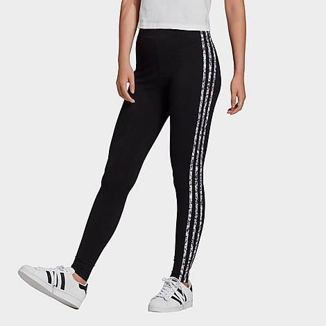 Adidas Originals ADIDAS WOMEN'S ORIGINALS ADICOLOR TREFOIL LOGO LEGGINGS