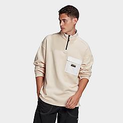 Men's adidas Originals R.Y.V. Utility Half-Zip Sweatshirt