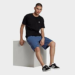Men's adidas Originals R.Y.V. Abstract Trefoil Shorts