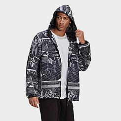 Men's adidas Originals R.Y.V. Graphic Windbreaker Jacket