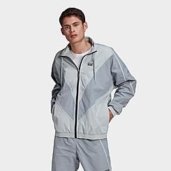 Men's adidas Originals R.Y.V. V-Line Woven Track Jacket