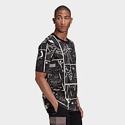 Men's adidas Originals R.Y.V. Allover Print T-Shirt