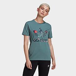 Women's adidas Originals HER Studio London Print T-Shirt