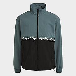Men's adidas Originals Adicolor Sliced Trefoil Track Jacket