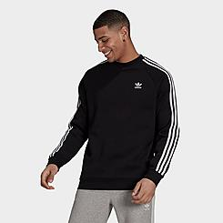 Men's adidas Originals Adicolor Classics 3-Stripes Crewneck Sweatshirt