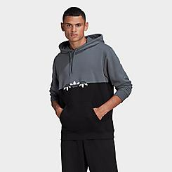 Men's adidas Originals Adicolor Sliced Trefoil Hoodie