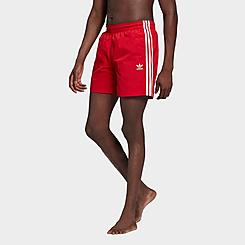 Men's adidas Originals 3-Stripes Swim Shorts