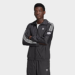 Men's adidas Originals Adicolor 3D Trefoil 3-Stripes Track Jacket