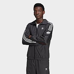 Men's adidas Originals Adicolor 3D Trefoil 3-Stripes Track Jacket