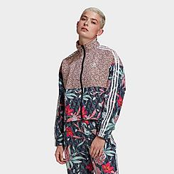 Women's adidas Originals Crop Windbreaker Jacket