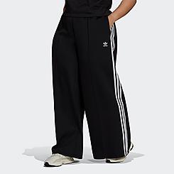 Women's adidas Originals Relaxed Wide-Leg Primeblue Pants (Plus Size)