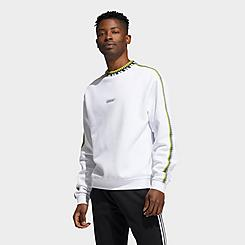 Men's adidas Originals Rib Detail Crewneck Sweatshirt