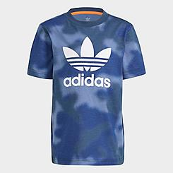 Kids' Toddler and Little Kids' adidas Originals Allover Camo Print T-Shirt