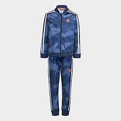 Boys' Toddler and Little Kids' adidas Originals Allover Print Camo SST Track Suit