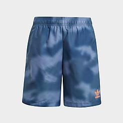 Boys' adidas Originals Allover Print Camo Swim Shorts