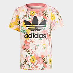 Girls' Toddler and Little Kids' adidas Originals HER Studio London Floral T-Shirt