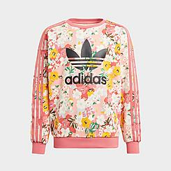Girls' adidas Originals HER Studio London Floral Crewneck Sweatshirt