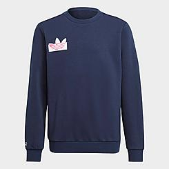 Kids' adidas Originals Trefoil Crewneck Sweatshirt