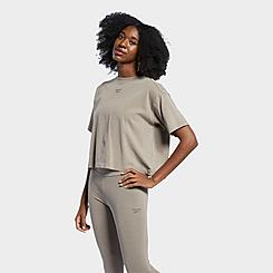 Women's Reebok Classics Natural Dye Cropped T-Shirt