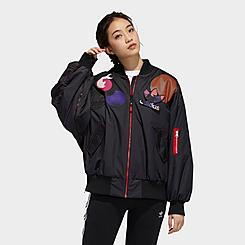 Women's adidas Originals CNY Patch Bomber Jacket