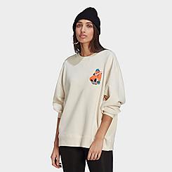Women's adidas Originals Adicolor Essentials x Egle Crewneck Sweatshirt