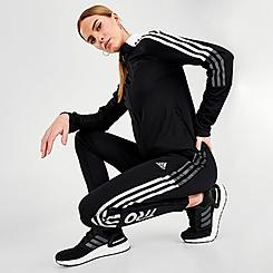 Women's adidas Tiro 21 Reflective Wordmark Track Pants