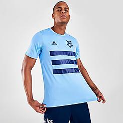 Men's adidas New York City FC Pitch T-Shirt