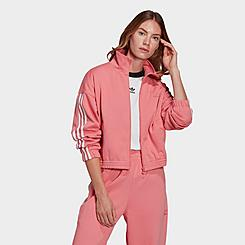 Women's adidas Originals Adicolor 3D Trefoil Track Jacket