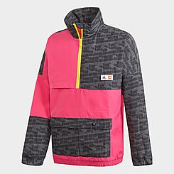 Kids' adidas x Classic LEGO® Bricks Half-Zip Training Jacket