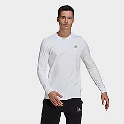 Men's adidas Badge of Sport Scribble Long-Sleeve T-Shirt