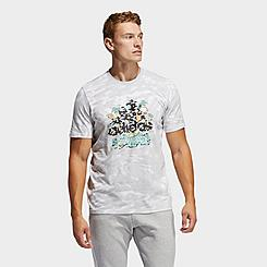 Men's adidas Los Angeles Summer Tour Badge of Sport Tie-Dye T-Shirt