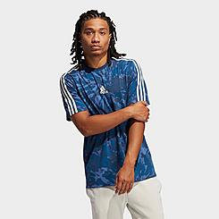 Men's adidas Summer Sport Tie-Dye Graphic T-Shirt