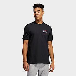 Men's adidas Gradient Floral Graphic T-Shirt