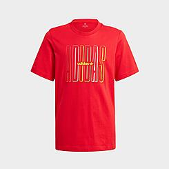 Kids' adidas Originals Graphic Double Logo Print T-Shirt