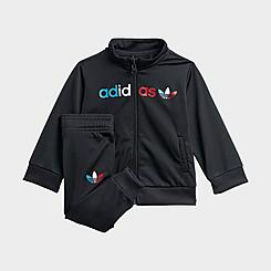 Infant adidas Originals Adicolor Primeblue Track Suit