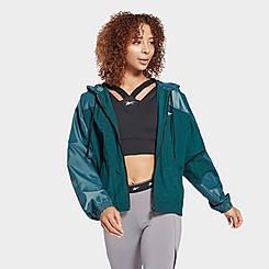 Women's Reebok Studio Shiny Woven Jacket