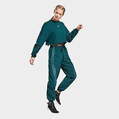 Women's Reebok Classics Shiny Woven Jogger Pants