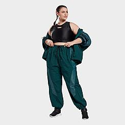 Women's Reebok Studio Woven Jogger Pants (Plus Size)
