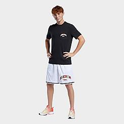 Men's Reebok Classics Multi-Color Logo Basketball Shorts