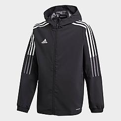 Kids' adidas Tiro 21 Soccer Windbreaker Jacket